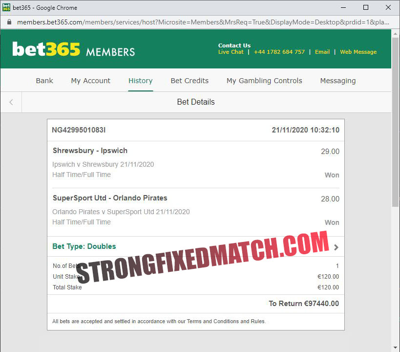 safe fixed matches 100% strong
