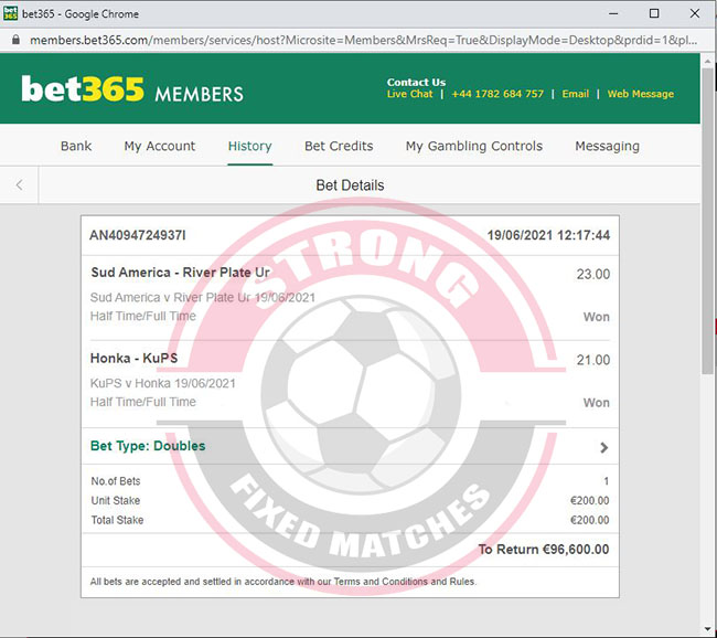 Germany Fixed Matches Source