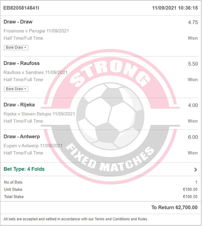 Strong Fixed Football Tips